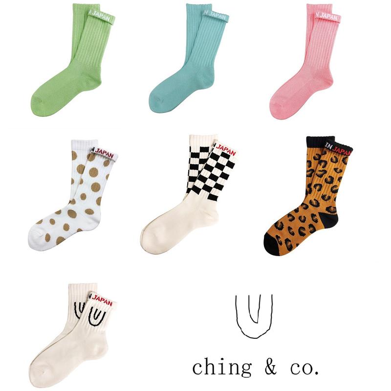 select / ching & co. SKATER SOCKS⑨