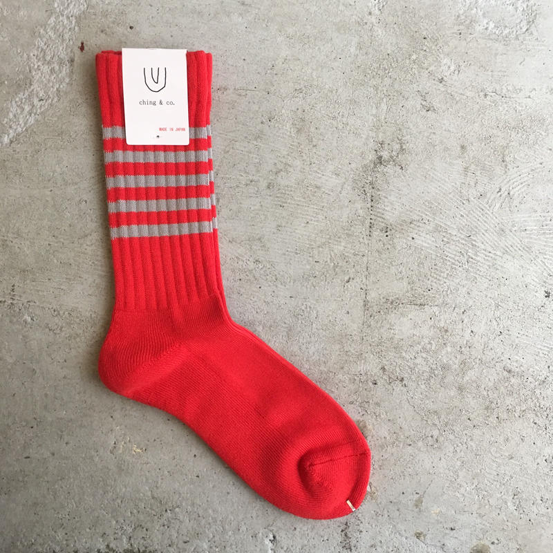 select/ ching & co. SKATER SOCKS⑦