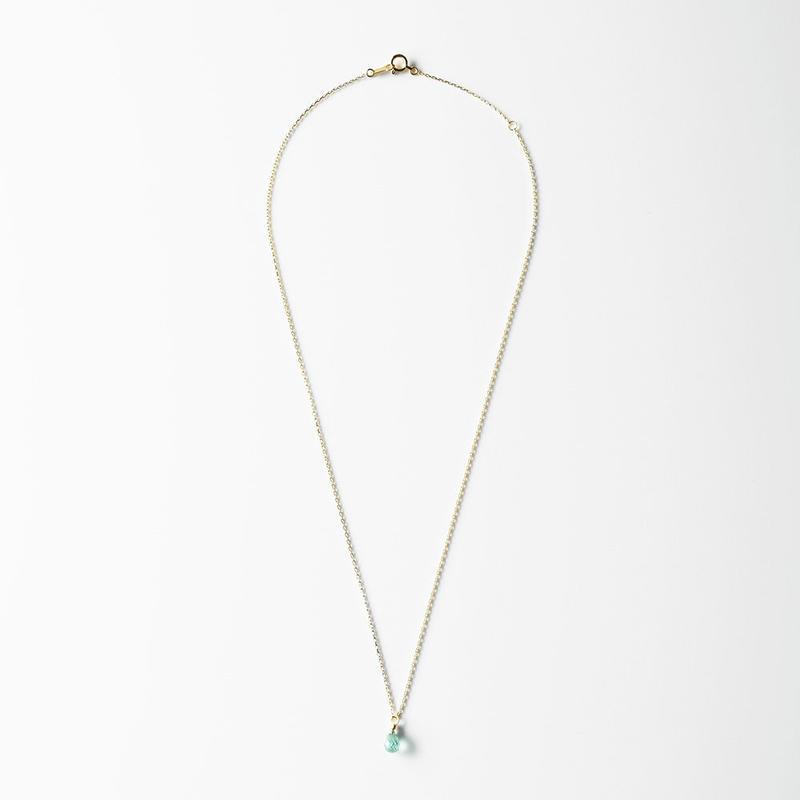 天然石ネックレス/エメラルド