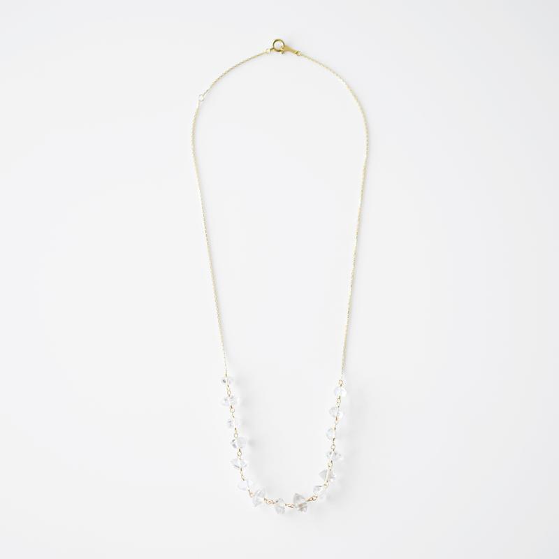 結晶ネックレス/ハーキマーダイヤモンド