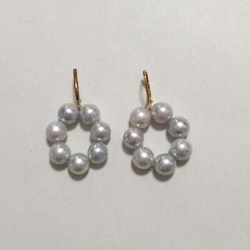 【soprano jungle x N_DRESS】pierced earring hook brass sp-002