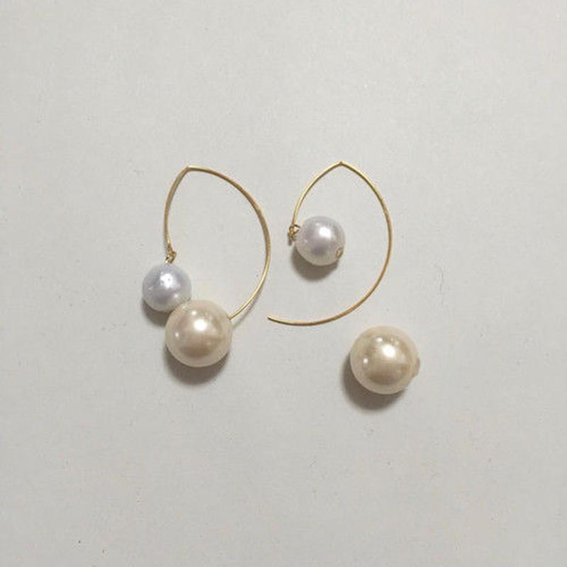 【soprano jungle x N_DRESS】pearl pierced