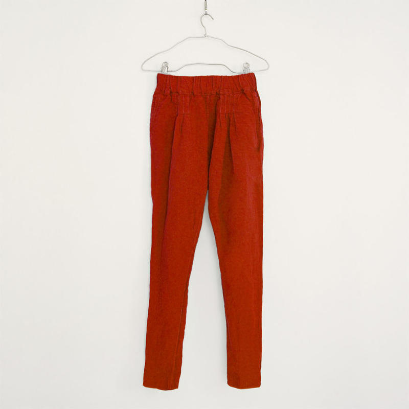 NEPALI PANTS / ROSE RED