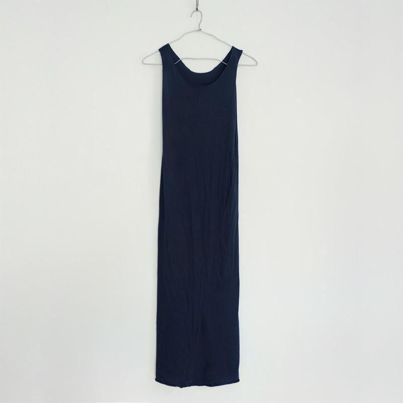 """PITATTO"" TANKTOP ONE PIECE / LOGWOOD NAVY"