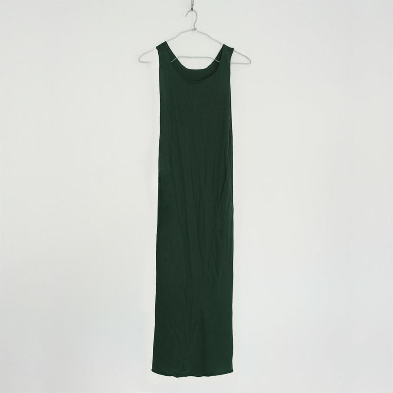 """PITATTO"" TANKTOP ONE PIECE / MALACHITE GREEN"