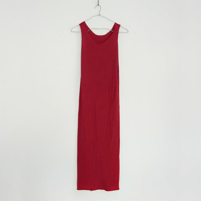"""PITATTO"" TANKTOP ONE PIECE / ROSE RED"