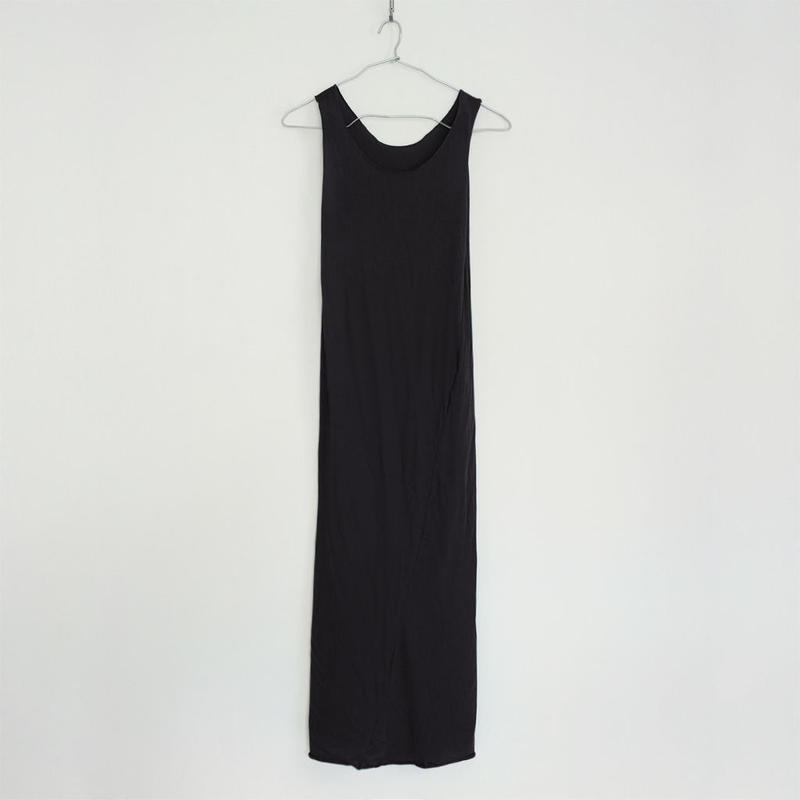 """PITATTO"" TANKTOP ONE PIECE / STONE BLACK"