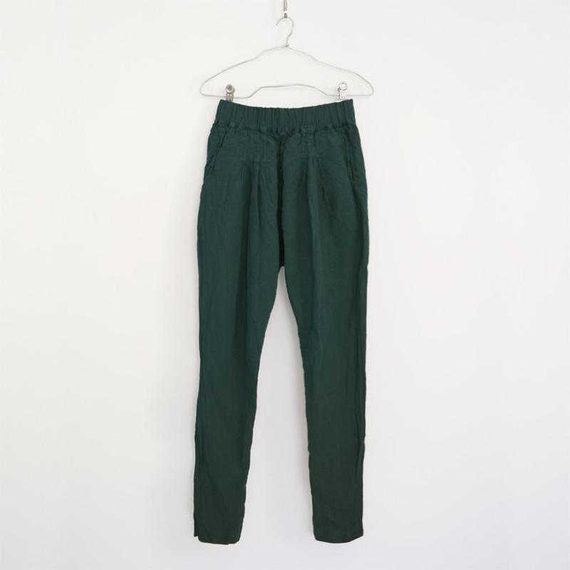 NEPALI PANTS / MALACHITE GREEN
