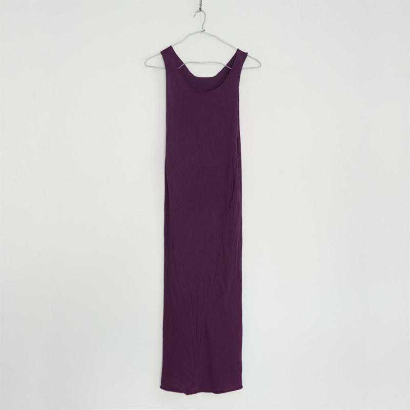 """PITATTO"" TANKTOP ONE PIECE / ROOTS PURPLE"