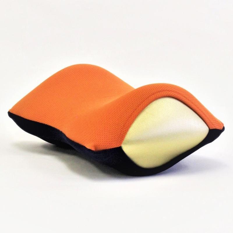 ネックラック(オレンジ x ネイビー)
