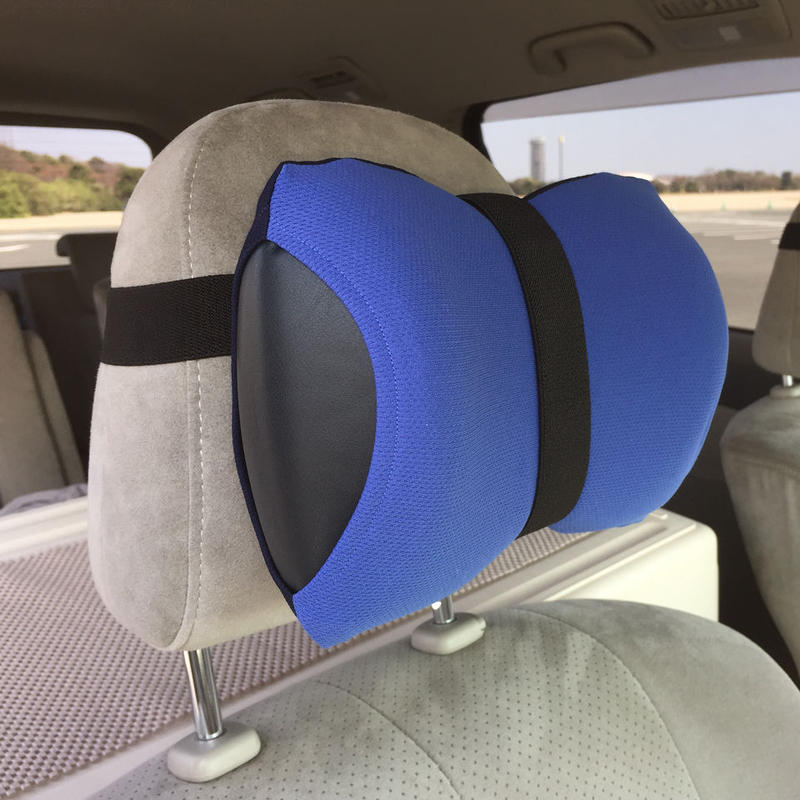 ネックラック(ブルー x ネイビー)【車用セット】