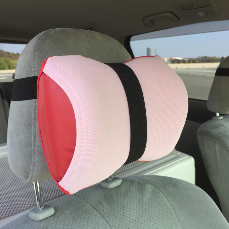 ネックラック(ピンク×レッド)【車用セット】