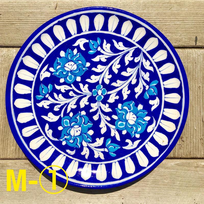 Blue pottery 中サイズ