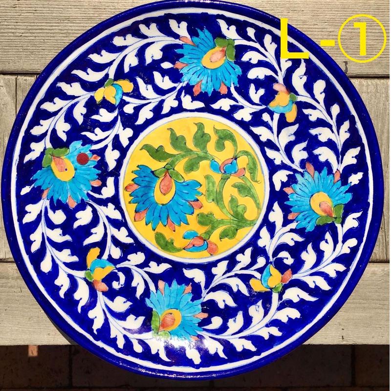 Blue pottery 大