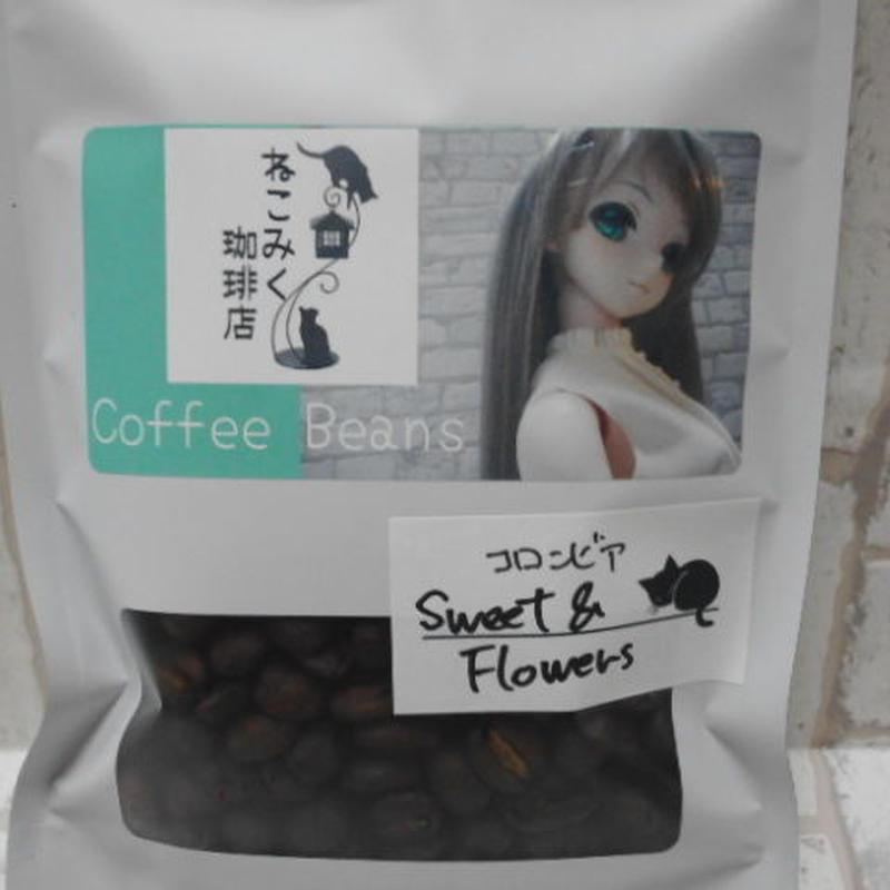 コロンビア Sweet & Flowers 100g
