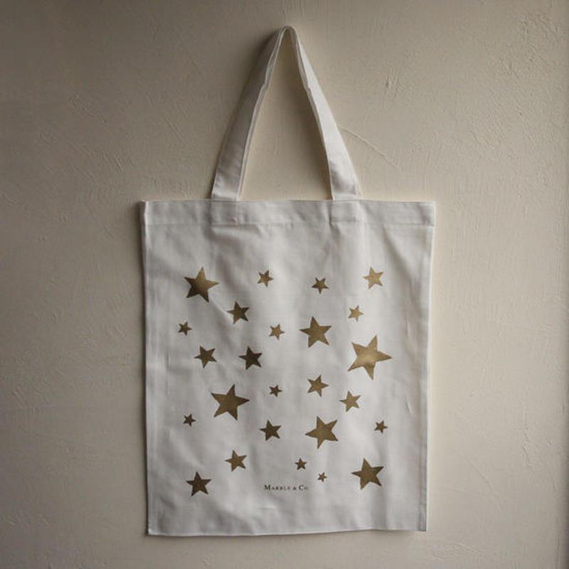 MARBLE & Co. 星のバッグ /ゴールド/シルバー