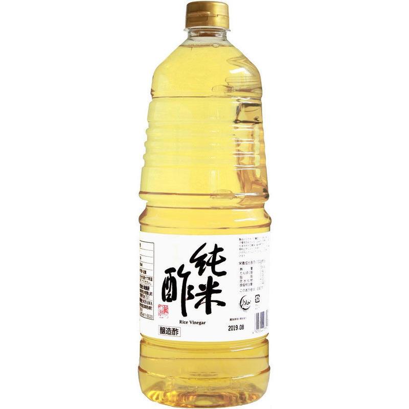 純米酢 1800ml  (1ロット24本)