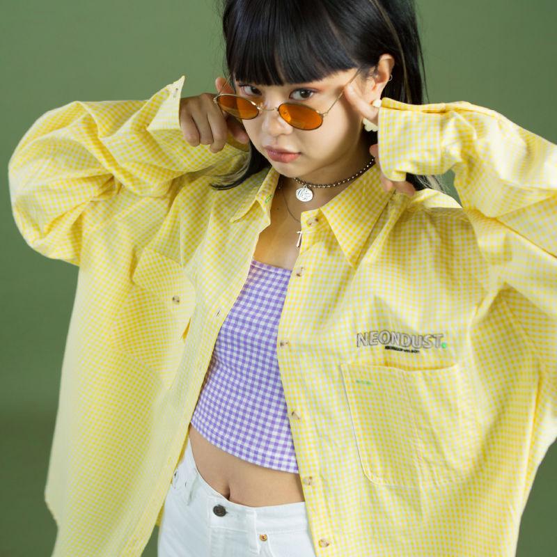 [ND] 19SM Check Shirt (Yellow)