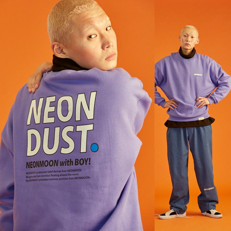 [ND] 18W Sweat Shirt (Purple)