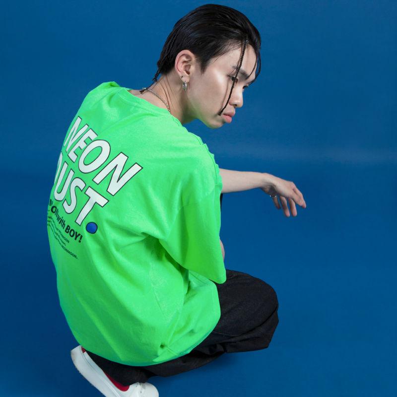 [ND] 19SM 1/2 T-Shirt (Neon Green)