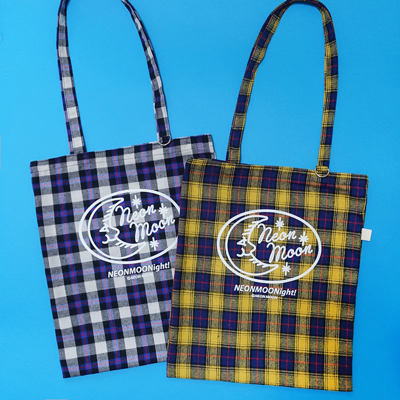 Check Logo Bag