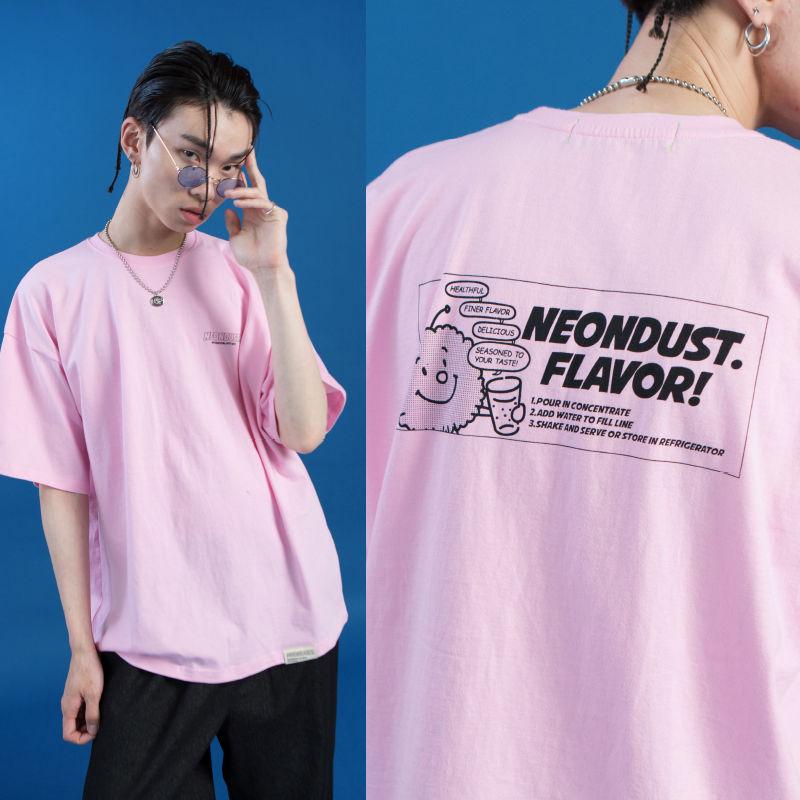 [ND] Dusty T-SHIRT (Pink)