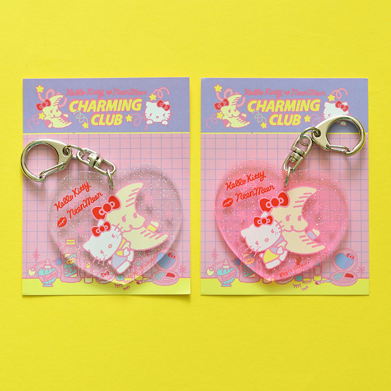 HELLO KITTY CHARMING CLUB Key Holder