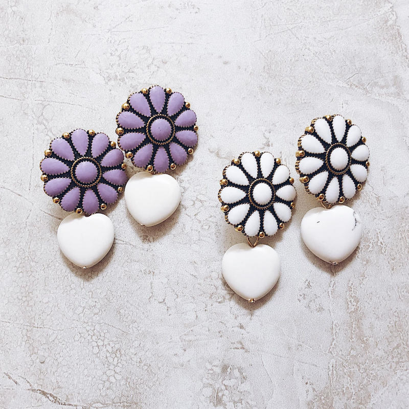 flower concho pierce