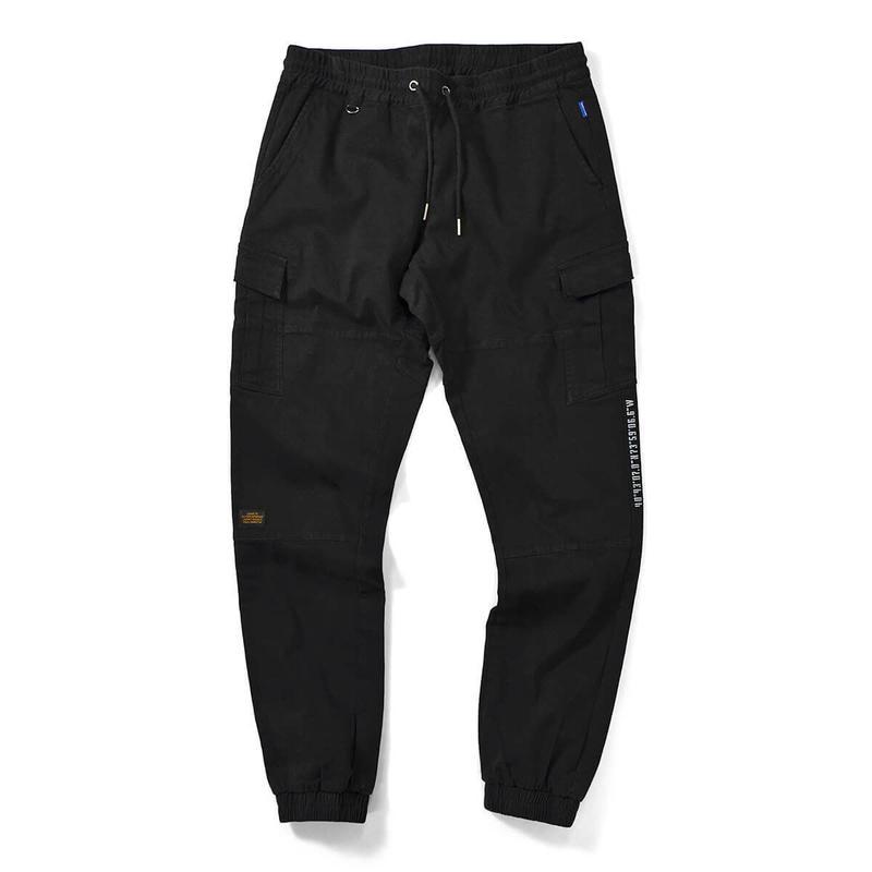 Lafayette ラファイエット COTTON TACTICAL JOGGER PANTS ジョガーパンツ LFT19SS027 BLACK ブラック L size