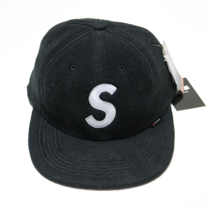 SUPREME  Polartec S Logo 6-Panel Hat Sロゴ キャップ BLACK
