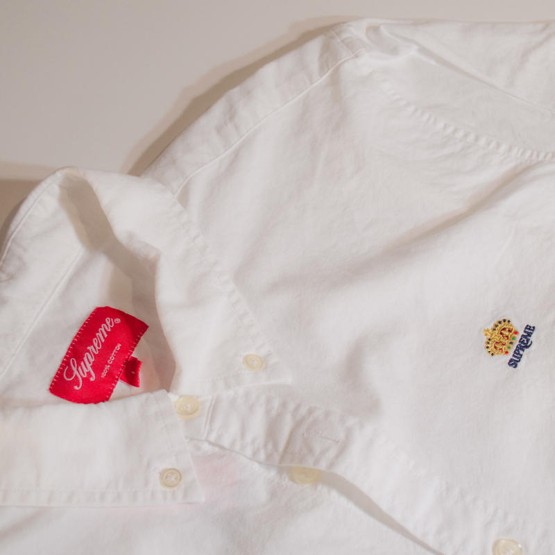 Supreme B.D Shirt White (L)