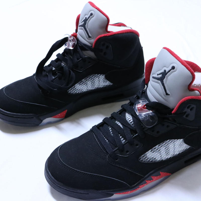 NIKE AIR JORDAN 5 RETRO SUPREME  BLACK