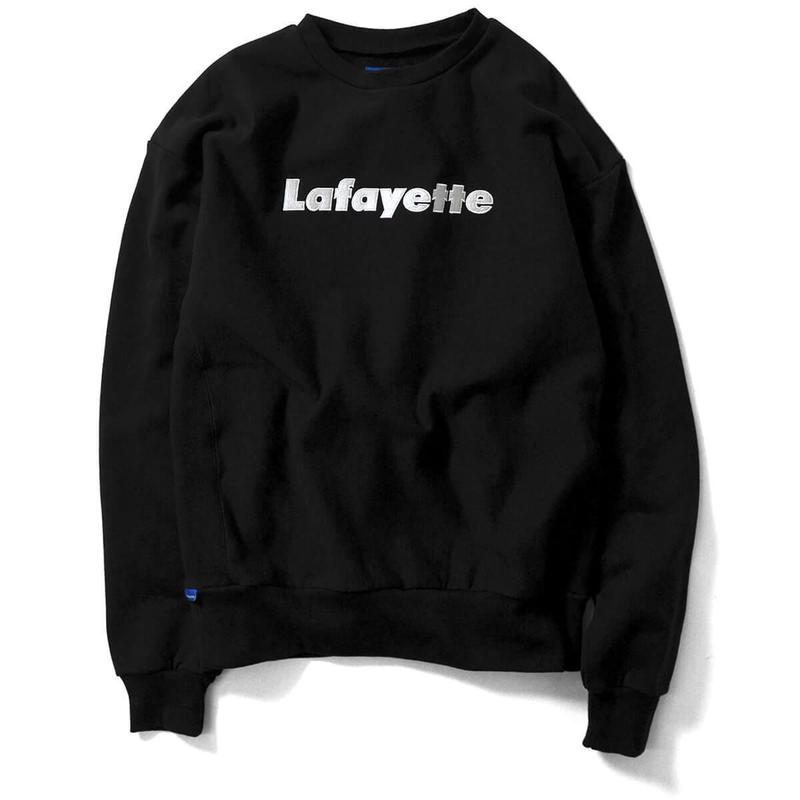 Lafayette ラファイエット Lafayette LOGO US COTTON CREW NECK SWEATSHIRT クルーネック スウェット