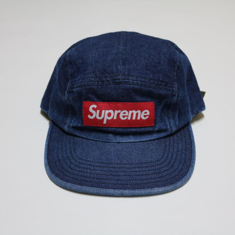 Supreme Camp Cap DENIM Blue 2018SS