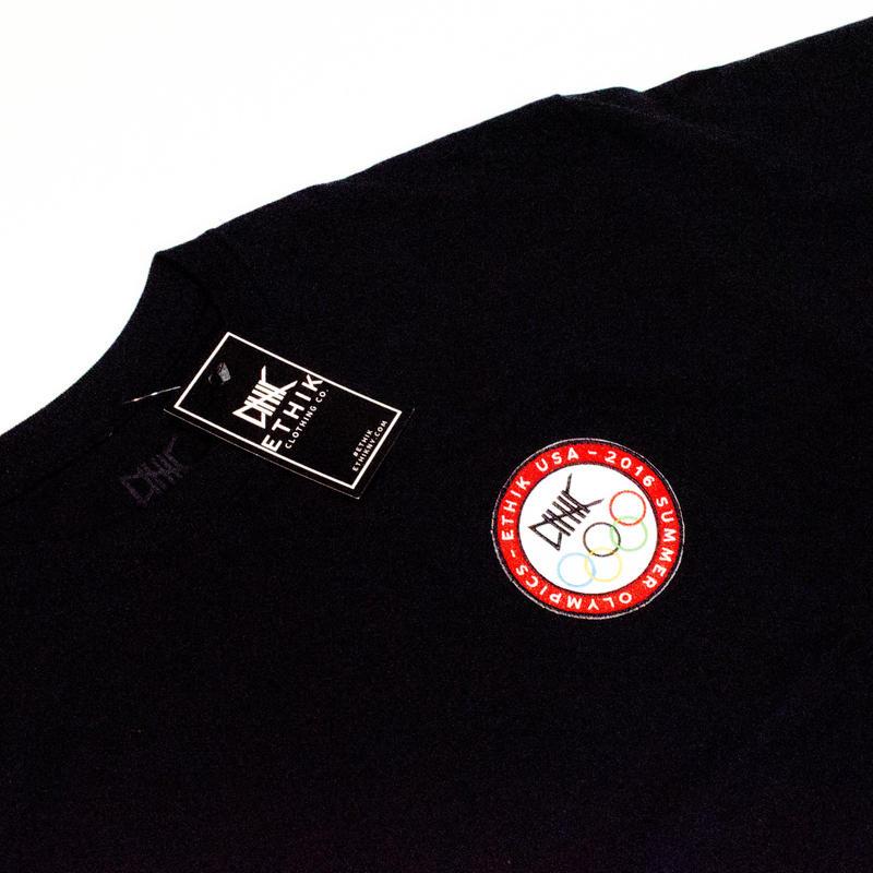 ETHIK Tシャツ(ブラック) Lサイズ