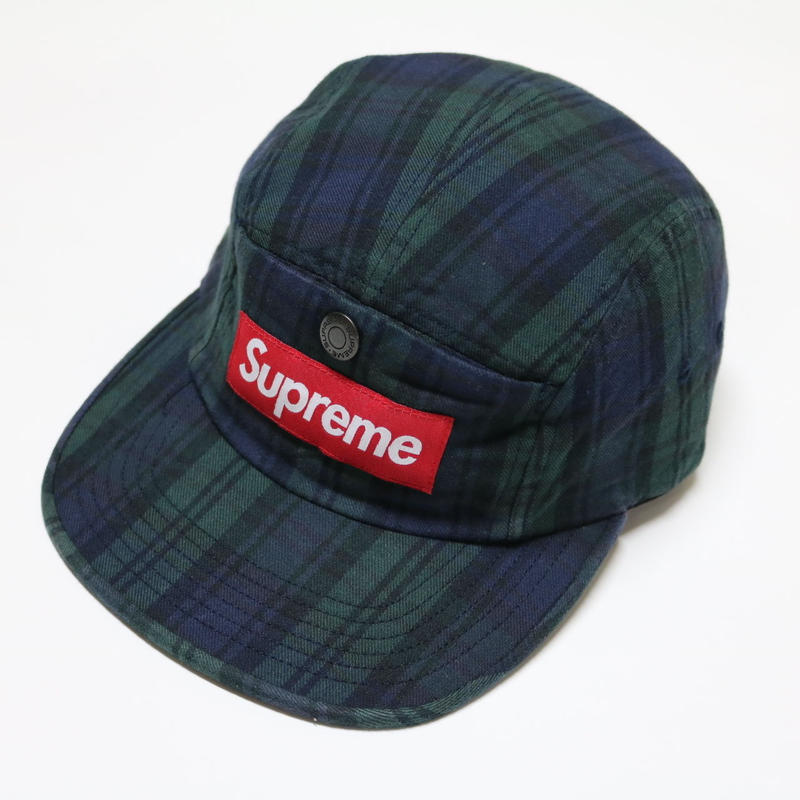 SUPREME 18AW Snap Button Pocket Camp Cap キャンプキャップ