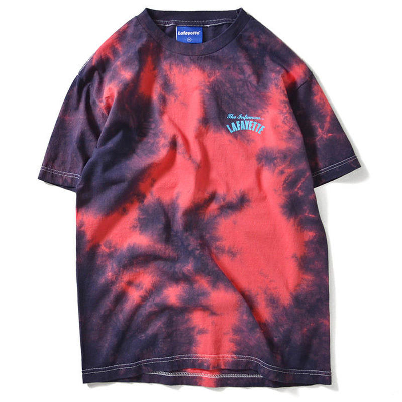 LAFAYETTE INFAMOUS MARBLE DYE TEE PINK