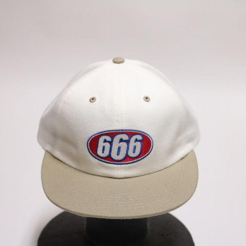 Supreme 2017S/S666 6-PANEL CAP WHITE