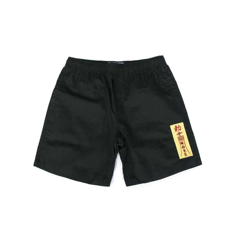 AMULET BEACH SHORTS (BLACK)