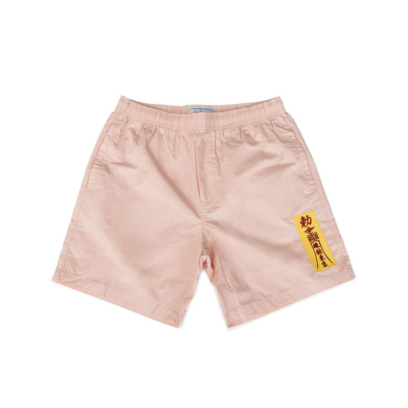 AMULET BEACH SHORTS (PALE PINK)