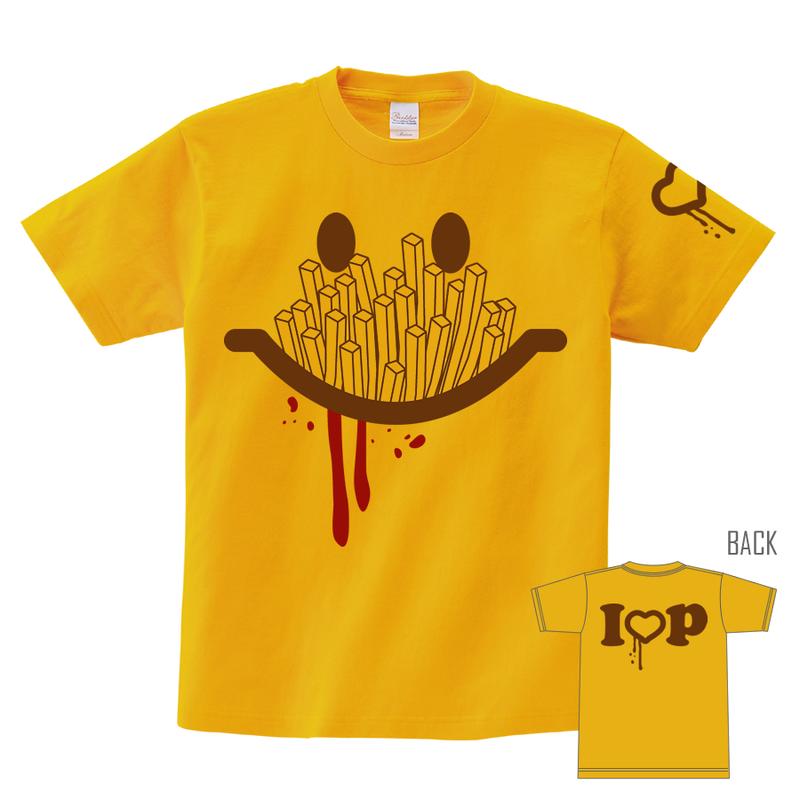 Tシャツ:I LOVE POTATO 01