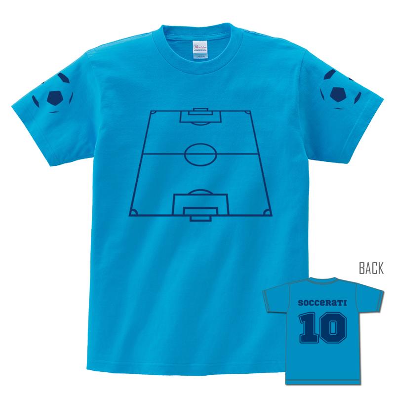 Tシャツ:SOCCERATI(名入れ・背番号・生地色変更可)