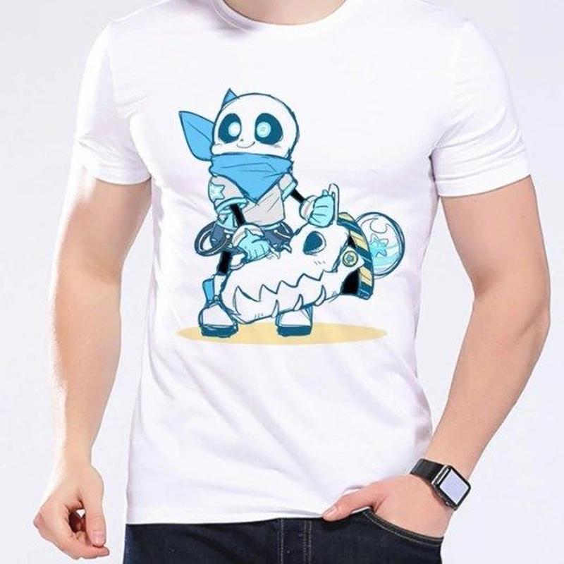 ゲームグッズ アンダーテール Undertale   Annoying dog サンズ sansTシャツ  かわいいサンズ 11