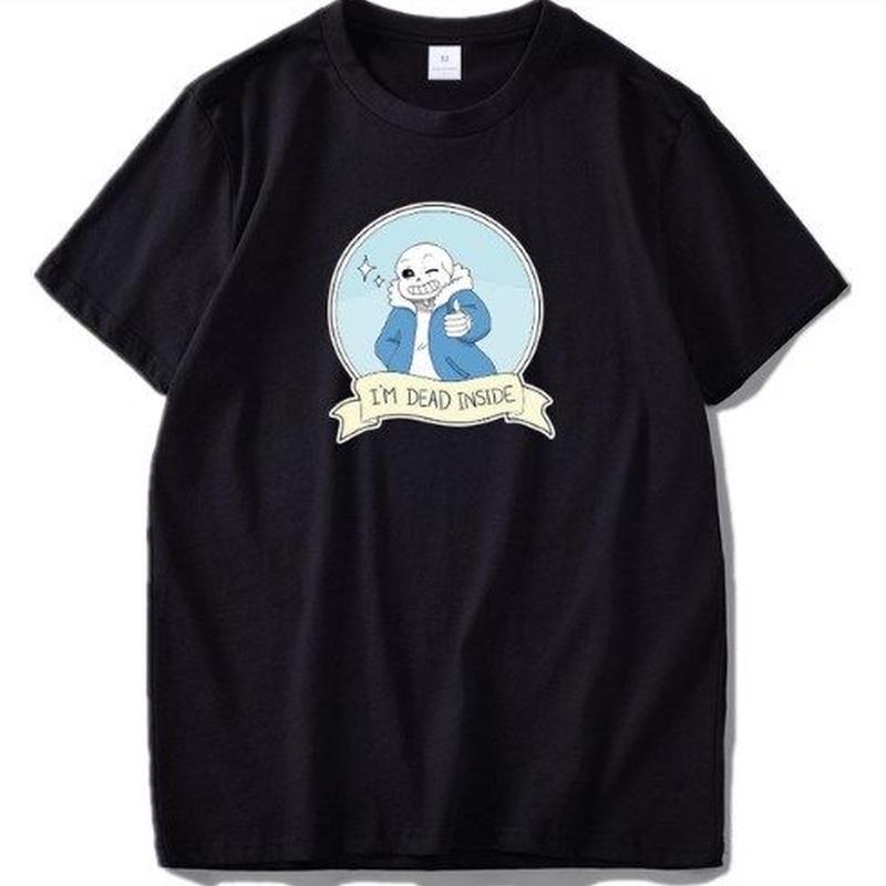 ゲームグッズ アンダーテール Undertale   ロゴ メッセージ Tシャツ 3