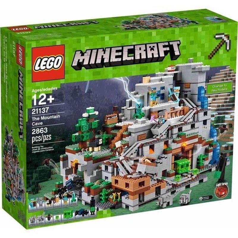 レゴ LEGO おもちゃ Minecraft The Mountain Cave Set #21137