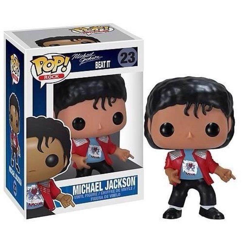 マイケル ジャクソン Michael Jackson ファンコ Funko フィギュア おもちゃ POP! Rocks Vinyl Figure #23 [Beat It]