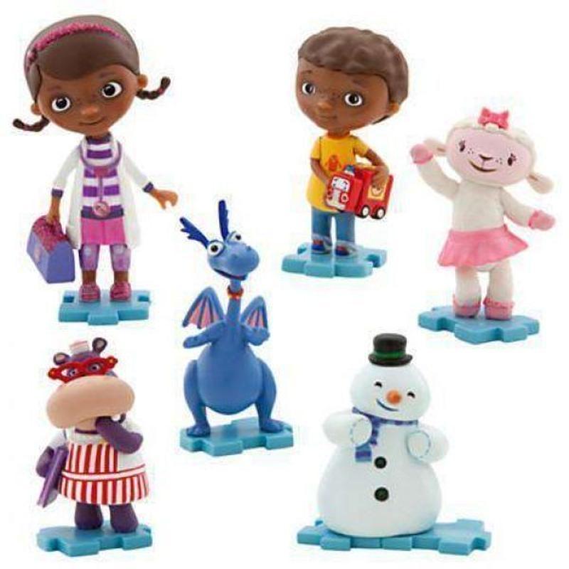 ドックはおもちゃドクター Doc McStuffins ディズニー Disney おもちゃ Exclusive 6 Piece PVC Figurine Playset