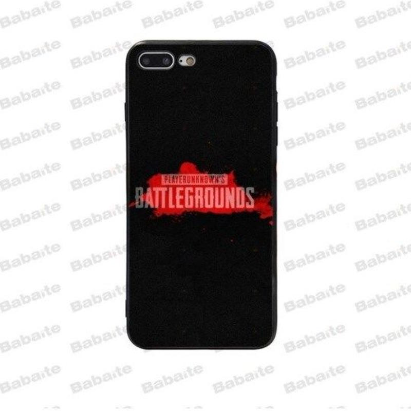 Pubg パブジー ゲーム TPU Iphoneケース アイフォンケース   playerunknown Battlegrounds プレイヤーアンノウンズ バトルグラウンズ  8