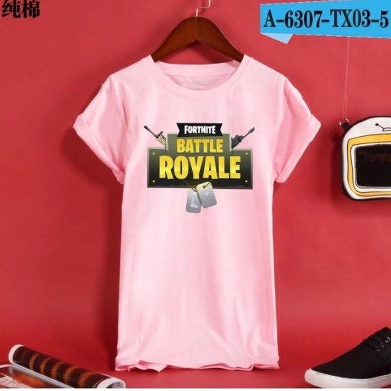 Fortnite フォートナイト ロゴ デザイン 綿100%  Tシャツ トップス  ユニセックス メンズ レディース  10
