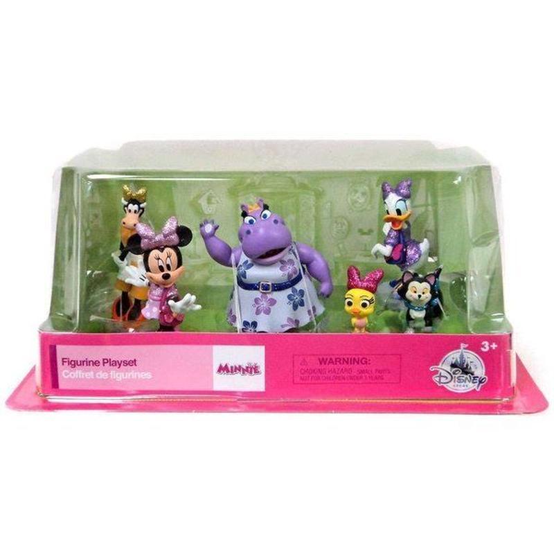 ミニーマウス Minnie Mouse ディズニー Disney フィギュア おもちゃ Bowtoons Exclusive 6-Piece PVC Figure Play Set